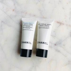 2PC Chanel hydra beauty micro cream and hand cream